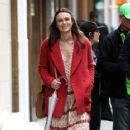 Keira Knightley film scenes for the upcoming movie 'Collateral Beauty' in New York City, New York on April 1, 2016 - 363 x 600