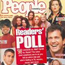 Emma Bunton, Geri Halliwell, Melanie Chisholm, Victoria Beckham, Melanie Brown, Mel Gibson, Helen Hunt - People Weekly Magazine Cover [United States] (27 April 1998)