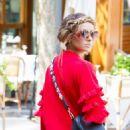 Kat Graham – Out in Milan – Italy