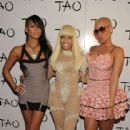 Amber Rose attends Nicki Minaj's 26th Birthday Party at Club Tao in Las Vegas, Nevada - December 9, 2010 - 416 x 600