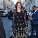 Chiara Mastroianni – Arriving at Vogue Dinner Party in Paris