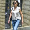 Katie Holmes in Jeans out in New York