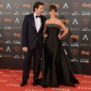 Penelope Cruz and Javier Bardem- Goya Cinema Awards 2016
