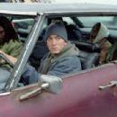 Mekhi Phifer, Eminem, Evan Jones and De'Angelo Wilson in Universal's 8 Mile - 2002