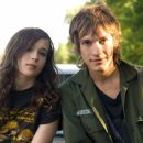 Landon Pigg and Ellen Page