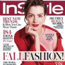 Anne Hathaway Instyle Cover Magazine September 2015