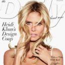 Heidi Klum Daily Front Us Cover February 2015
