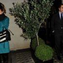 Kate Beckinsale: out for dinner at Scott's restaurant in Mayfair