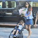 'Furious 7' actress Jordana Brewster went to the farmer's market with her family in Los Angeles, California on August 21, 2016 - 454 x 512