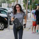 Courteney Cox – Feeds her meter in West Hollywood