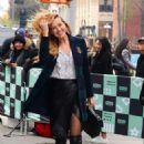 Petra Němcová – Arrives at AOL build Show in New York City - 454 x 651