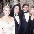 Paul Stanley and Pamela Bowen at the Plaza Hotel on December 20, 1993