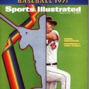 Boog Powell - Sports Illustrated Magazine Cover [United States] (12 April 1971)