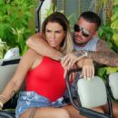 Katie Price and boyfriend Carl Woods on holiday in the Maldives - 454 x 575