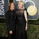 Nicole Kidman and Keith Urban At The 75th Annual Golden Globes - Arrivals (2018) - 400 x 600