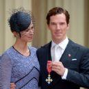 Benedict Cumberbatch-November 10, 2015-Investitures at Buckingham Palace