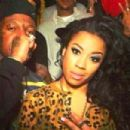 Keyshia Cole and Baby aka Birdman - 454 x 303