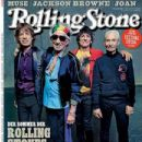 Mick Jagger, Keith Richards, Ron Wood, Charlie Watts - Rolling Stone Magazine Cover [Germany] (July 2015)