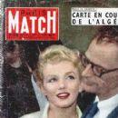 Marilyn Monroe - Paris Match Magazine [France] (July 1956)