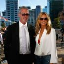 Heidi Klum arrives for the 2015 NRL season launch at Shed 10 on January 29, 2015 in Auckland, New Zealand