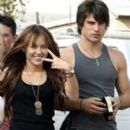 Random photos of Miley Cyrus, Justin Gaston