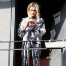Ashley Roberts – Arriving to rehearsals for a new music video in West Hollywood