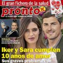 Iker Casillas and Sara Carbonero - 454 x 642