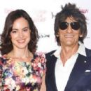 Sally Wood and Ronnie Wood  -  Publicity - 454 x 302
