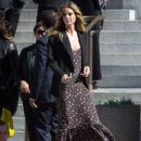 Heidi Klum spotted on the set of 'Ocean's Eight' in Los Angeles, California on March 6, 2017 - 412 x 600