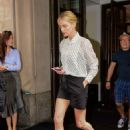 Charlize Theron – Leaving her hotel in New York City