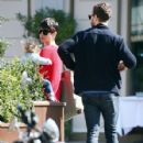Amelia Warner and Jamie Dornan out in London (April 7, 2015) - 427 x 600