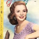Piper Laurie - Geino Gaho Magazine Pictorial [Japan] (February 1955) - 454 x 656