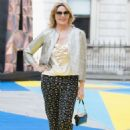 Kim Cattrall – Royal Academy of Arts Summer Exhibition Preview Party in London - 454 x 653