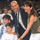 Zinedine Zidane and Veronique Zidane - 454 x 340
