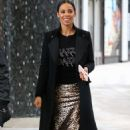 Rochelle Humes – Filming at ITV Studios in London - 454 x 734