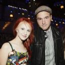 Hayley Williams and Chad Gilbert - 372 x 500