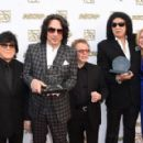 John Titta, Paul Stanley, Paul Williams, Gene Simmons, Elizabeth Matthews attend the 32nd Annual ASCAP Pop Music Awards held at The Loews Hollywood Hotel on April 29, 2015 in Hollywood, California. - 454 x 289