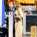 Isla Fisher at a Gas Station in Los Angeles 03/07/2019 - 454 x 680