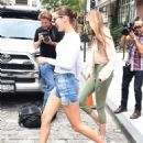 Gigi and Bella Hadid – Leaves Gigi's Apartment in NYC