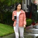 Camila Mendes – Out and about in Vancouver - 454 x 638