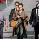 Jessica Alba Arrives at 'Jimmy Kimmel Live'