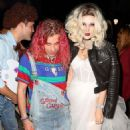 Bella Thorne – Arrives to Halloween party in Los Angeles - 454 x 506