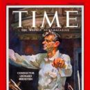Leonard Bernstein - Time Magazine [United States] (4 February 1957)