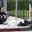 Samantha out with a mystery female in LOs Angeles March 25, 2011 - 415 x 293