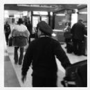 Axl in the airport