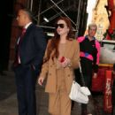 Lindsay Lohan – Out and about in New York City