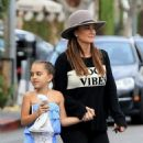 Kyle Richards was out and about in Beverly Hills, California on October 15, 2016 with her family - 454 x 550