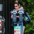 Cara Delevingne and Ashley Benson out in West Hollywood