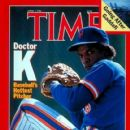 Dwight Gooden - Time Magazine [United States] (7 April 1986)