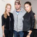 Erin Heatherton & Adriana Lima: Enrique Iglesias' Concert Chicks